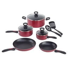 Get-A-Grip Aluminum 10-Piece Cookware Set