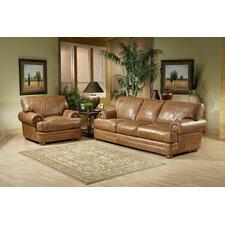 Houston Leather Living Room Set