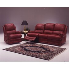 Morgan Reclining Leather Living Room Set
