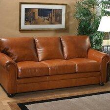 Georgia Leather Sleeper Sofa