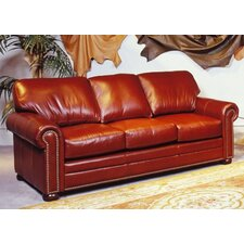Savannah Leather Sleeper Sofa