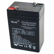 6 Volt Rechargeable Battery For Models KB901 & YJ119