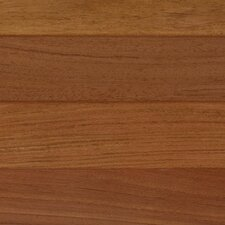 "6-1/4"" Engineered Brazilian Cherry Hardwood Flooring in Brown"