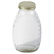 Little Giant 16 Oz Glass Honey Jar (Set of 12)