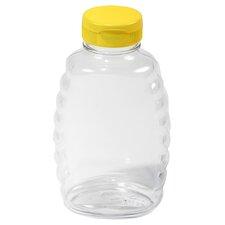 Little Giant 16 Oz Plastic Honey Squeeze Jar (Set of 12)