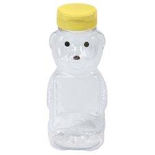 Little Giant 12 Oz Plastic Honey Bear Bottle (Set of 12)