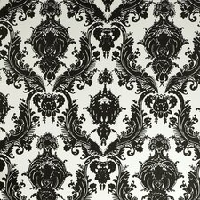 "Damsel Temporary 33' x 20.5"" Damask Foiled Wallpaper"