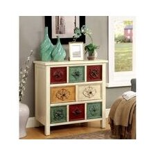 Jesline Contemporary 8 Drawer Chest