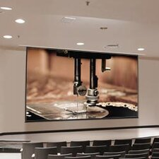 Access XL Series E Matte White Electric Projection Screen with Low Voltage Motor