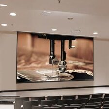 Access XL Series E Glass Beaded Electric Projection Screen with Low Voltage Motor