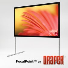 Focal Point Matt White Portable Projection Screen