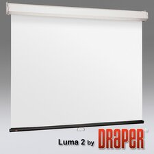 Luma 2 with AutoReturn Glass Beaded Electric Projection Screen