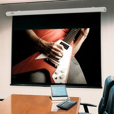 """Salara/HW Clear Sound Grey Weave 100"""" Electric Projection Screen"""