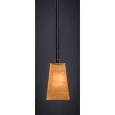 Apollo 1 Light Stem Mini Pendant With Hang Straight Swivel