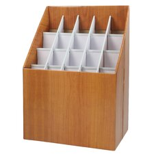 Upright Roll File Filing Box