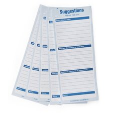 Suggestion Card (Pack of 25)