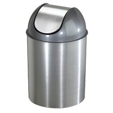Mezzo Trash Can with Swing Lid