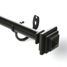 Imperial Single Curtain Rod and Hardware Set