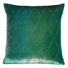 Arches Velvet Throw Pillow