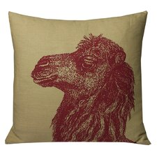 Animals Camel Throw Pillow