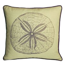 Nauticals Sand Dollar Throw Pillow