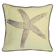 Nauticals Starfish Throw Pillow