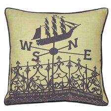 Nauticals Widow's Walk Throw Pillow