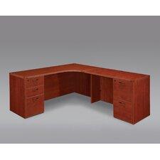 Fairplex Corner Executive Desk