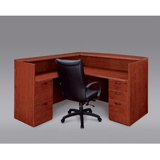 Fairplex L-Shape Reception Desk