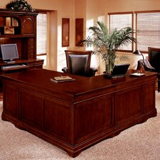 "Rue De Lyon 72"" ""L"" Executive Desk with Drawers"