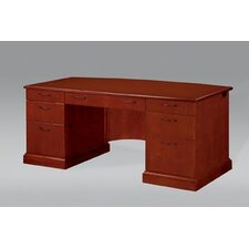 Belmont Executive Desk with 9 Drawers