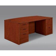 Fairplex Bow Front Executive Desk
