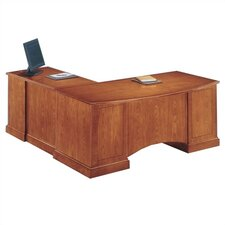 Belmont 4-Piece L-Shape Desk Office Suite