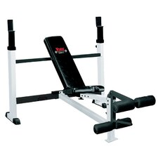 Combo Adjustable Olympic Bench with Leg Developer