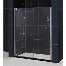 """Elegance 72"""" x 58.25"""" Pivot Frameless Shower Door"""