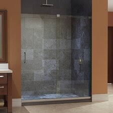 "Mirage 72"" x 60"" Sliding Frameless Shower Door"