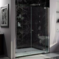 "Allure 73"" x 61"" Pivot Frameless Shower Door"