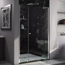 "Allure 73"" x 55"" Pivot Frameless Shower Door"