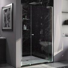 "Allure 73"" x 49"" Pivot Frameless Shower Door"