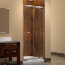 """Butterfly 72"""" x 30"""" Pivot Frameless Bi-Fold Shower Door"""