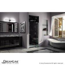 "Allure 73"" x 40"" Frameless Pivot Shower Door"