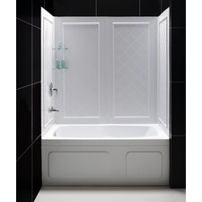 QWALL-Tub Backwall Kit