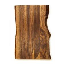 Acacia Raw Edge Gripper Cutting Board