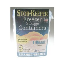 1.5-Pint Stor-Keeper Freezer Storage Container (Set of 3)