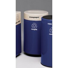 Fiberglass Recycling 21-Gal Glass Industrial Recycling Bin
