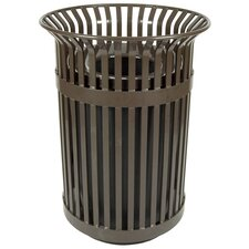 Queen City 36-Gal Trash Receptacle and Flat Top Lid