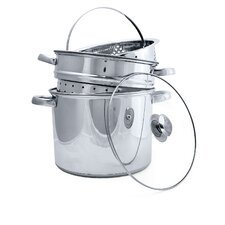 Pure Intentions Stainless Steel 8-qt. Multi-Pot