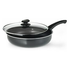 """Elements 11"""" Deep Saute Pan with Lid"""