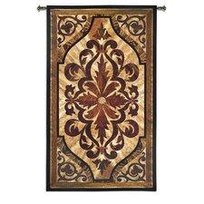 Wood Inlay Birch BW Tapestry