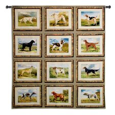 Sporting Dogs Tapestry